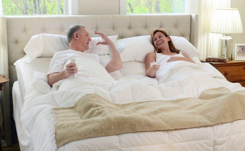 split king adjustable bed