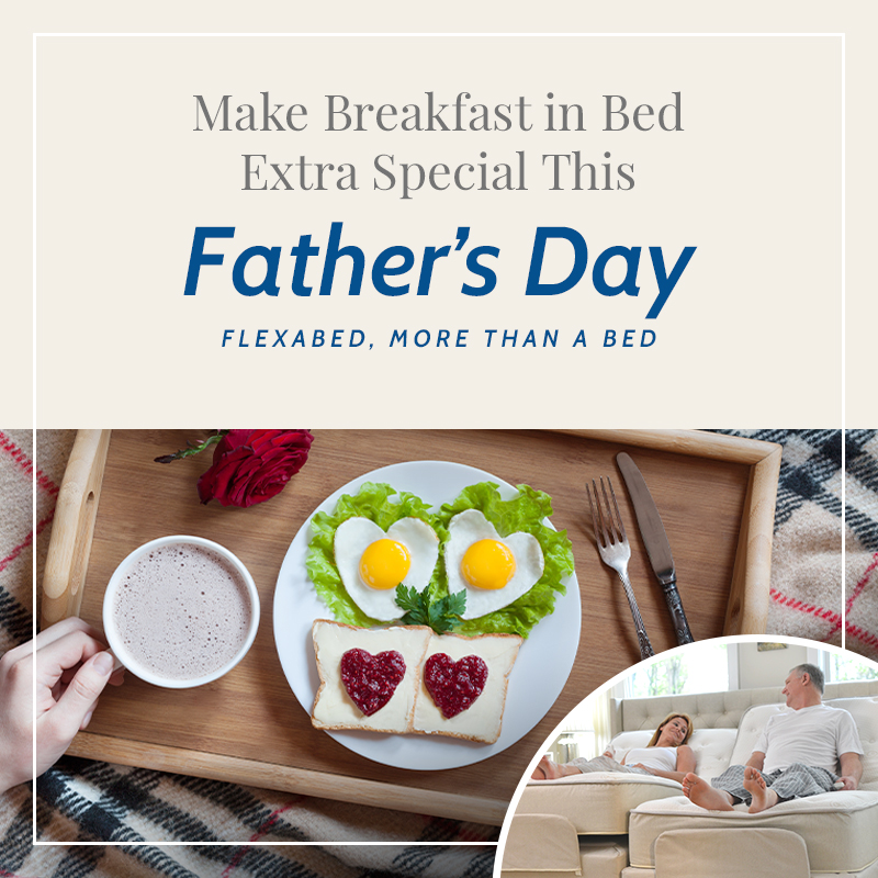 Make Breakfast in Bed Extra Special This Fathers Day