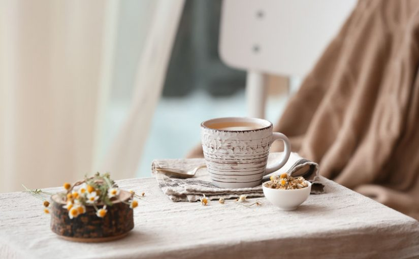 Chamomile tea is on our Flexabed holiday gift guide for items that help give the gift of great sleep!